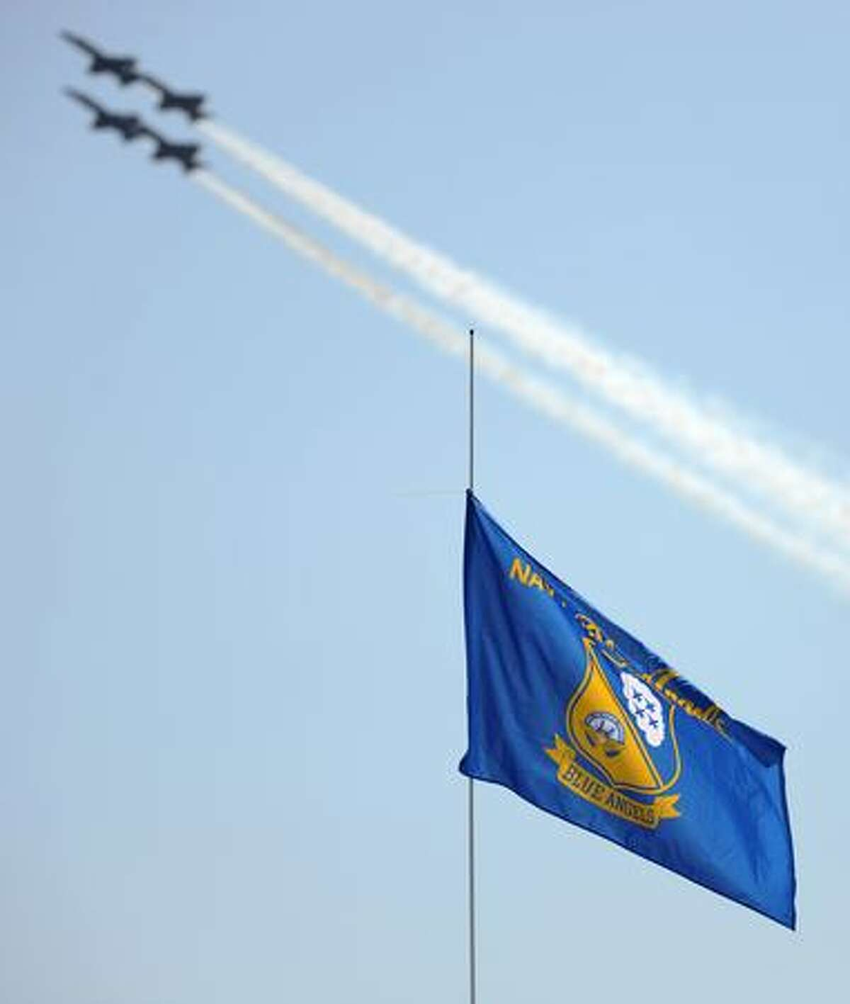 The Blue Angels perform during Seafair 2009.