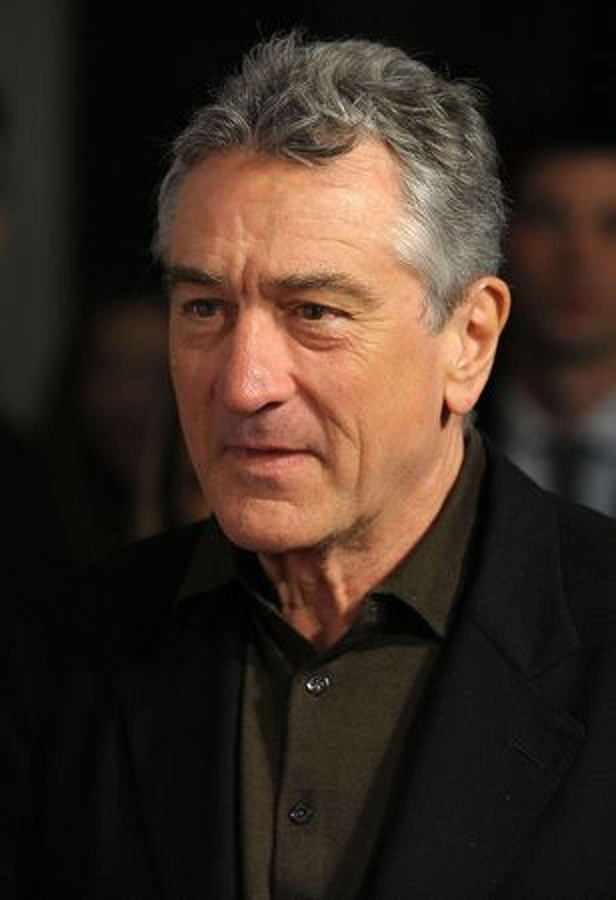 Robert DeNiro attends the Tribeca Film Institute's benefit screening of