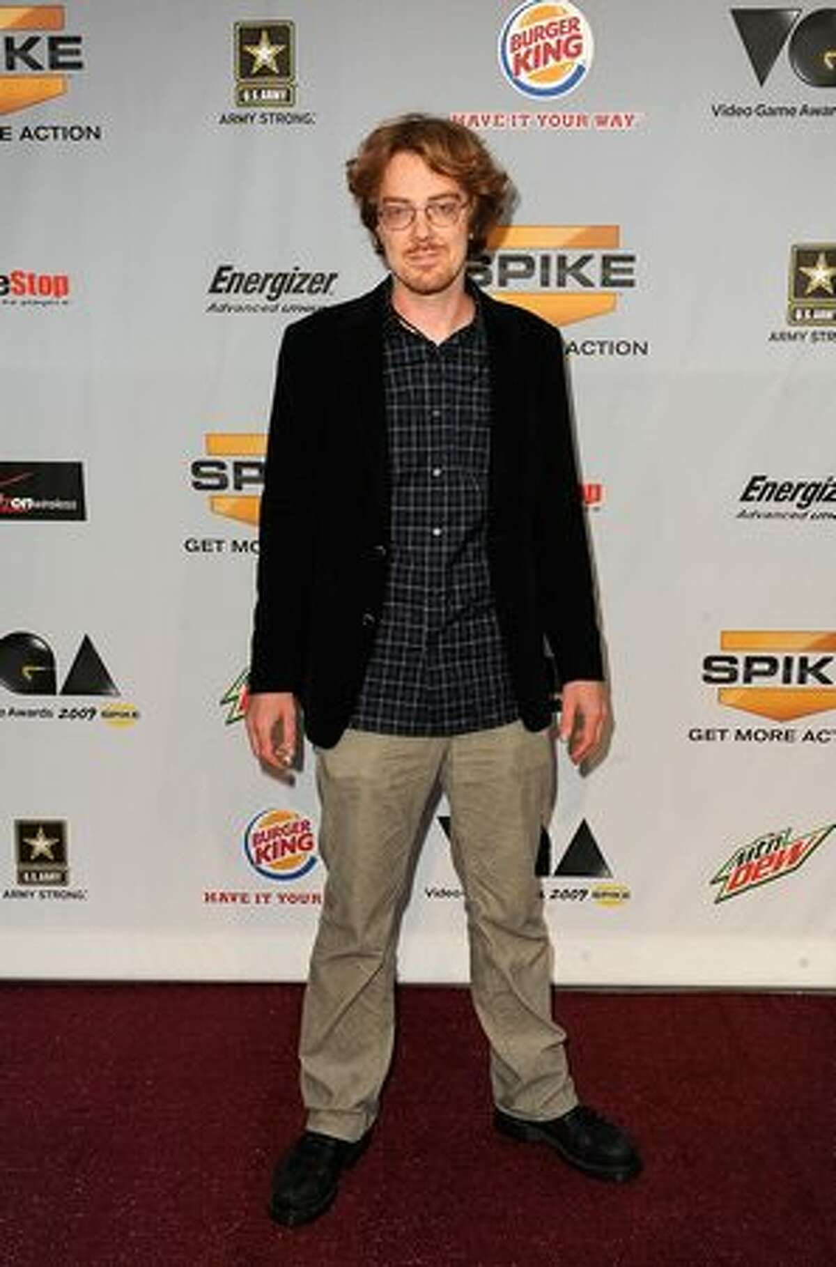 Composer Jesper Kyd arrives at Spike TV's 7th Annual Video Game Awards at the Nokia Event Deck at LA Live on December 12, 2009 in Los Angeles, California.