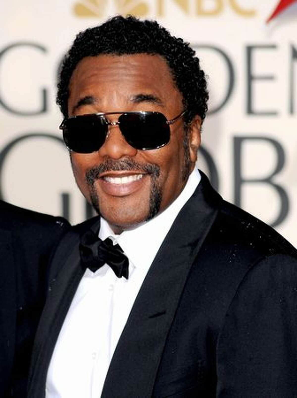 Actor Lee Daniels arrives at the 67th Annual Golden Globe Awards held at The Beverly Hilton Hotel in Beverly Hills, California.