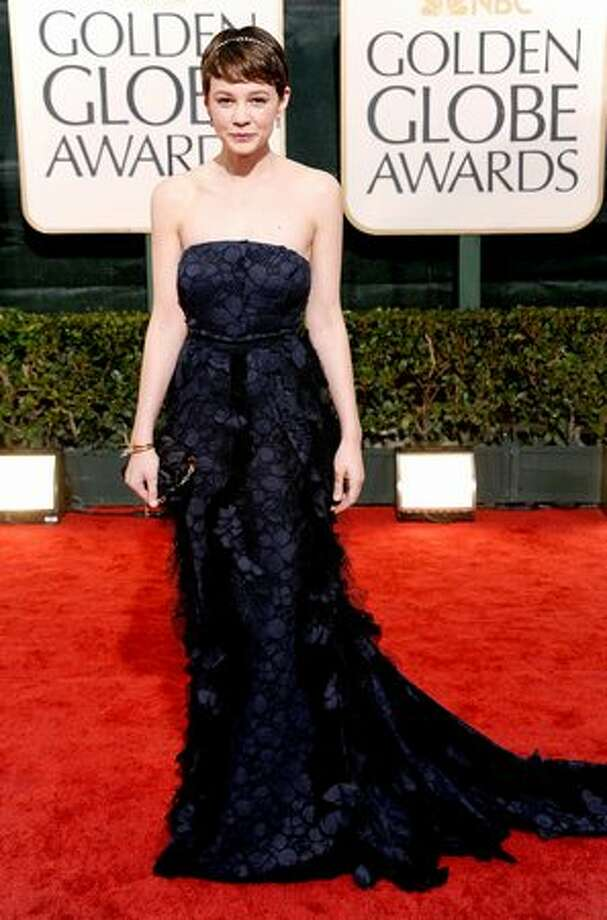 Actress Carey Mulligan shows how simplicity is done with style in a Nina Ricci gown. Photo: Getty Images