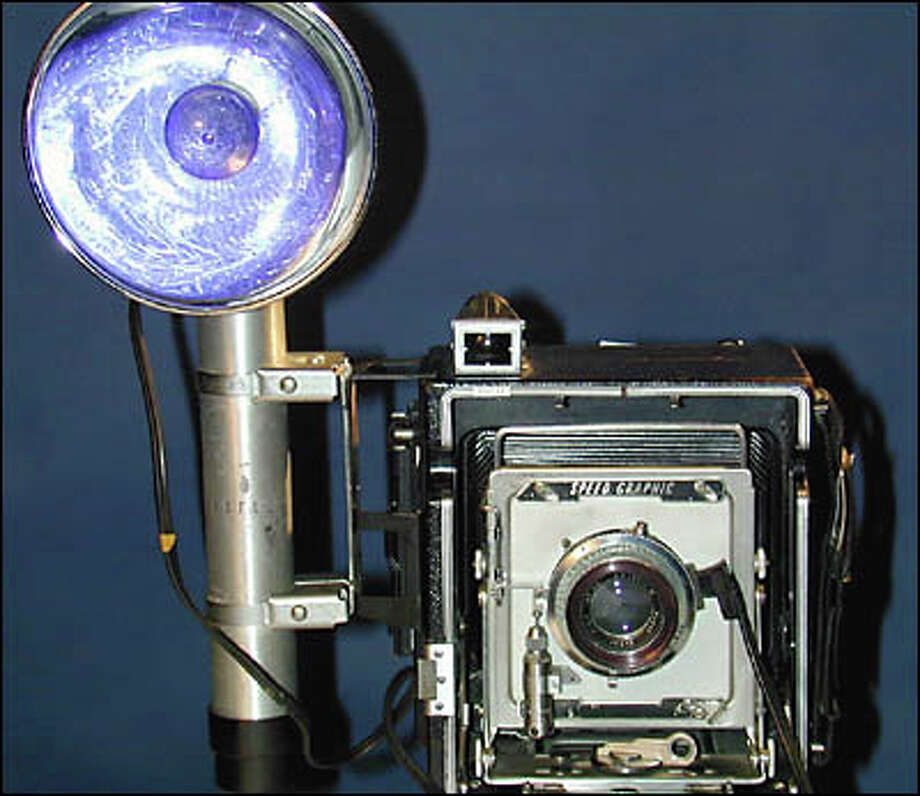 Speed Graphic camera Photo: Museum Of History And Industry