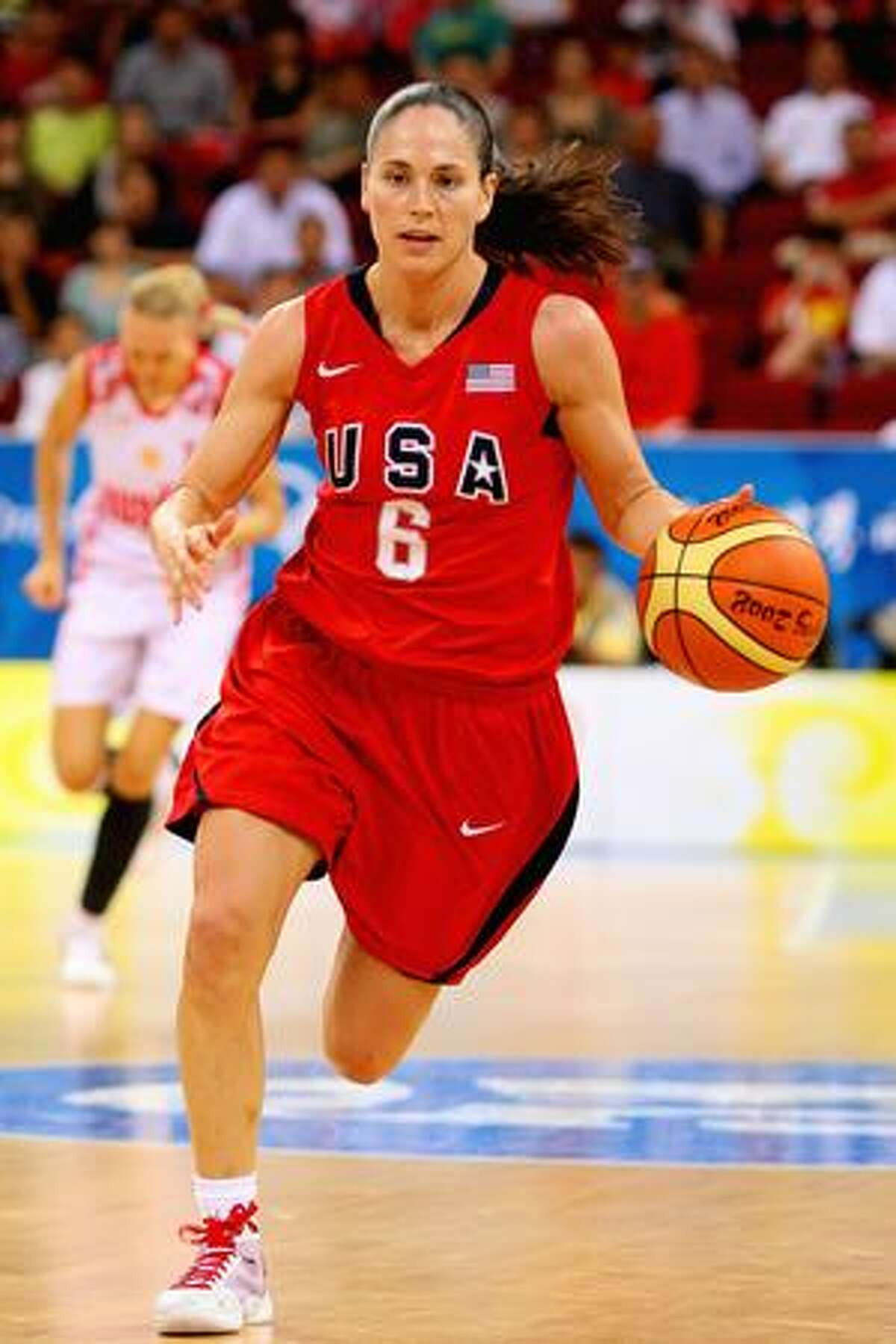 7. Sue Bird: Storm point guard has classy, athletic girl-next-door look on the floor, but when she's out of uniform and wearing street clothes, yowza. Ranked No. 9 on the 2005 list. -- Jim Moore