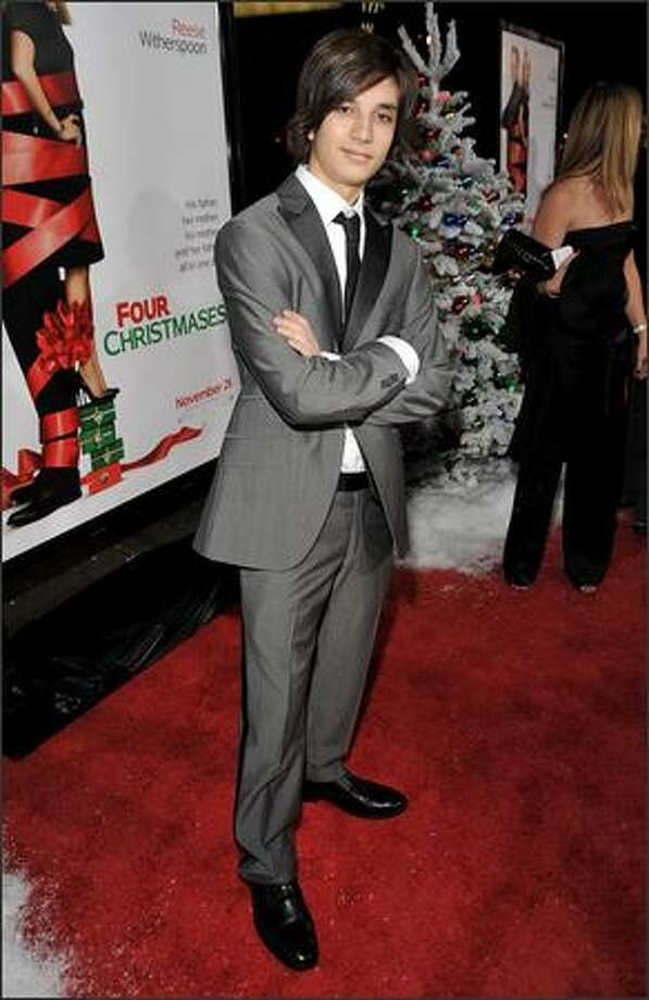 """premiere of the """"Four Christmases"""" - seattlepi.com  Taylor"""