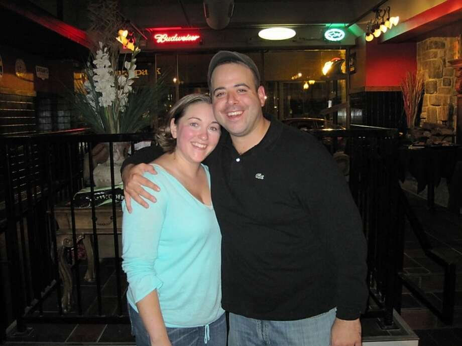 Jennifer O'Brien and Jeremy Disare