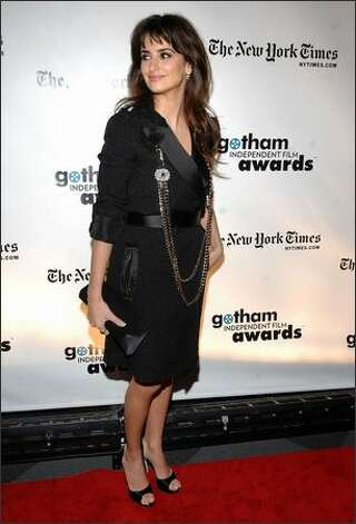 Actress Penelope Cruz attends the 18th Annual Gotham Independent Film Awards at Museum of Finance on Tuesday in New York City. Photo: Getty Images