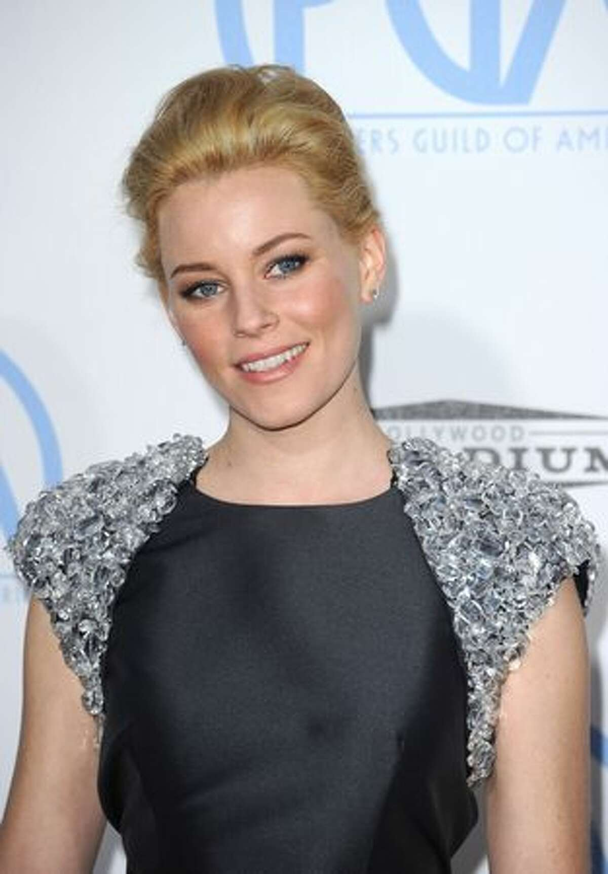 Actress Elizabeth Banks arrives at the 21st annual Producers Guild of America Awards at the Hollywood Palladium in Los Angeles on Sunday, Jan. 24, 2010.