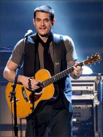 Musician John Mayer performs onstage. Photo: Getty Images