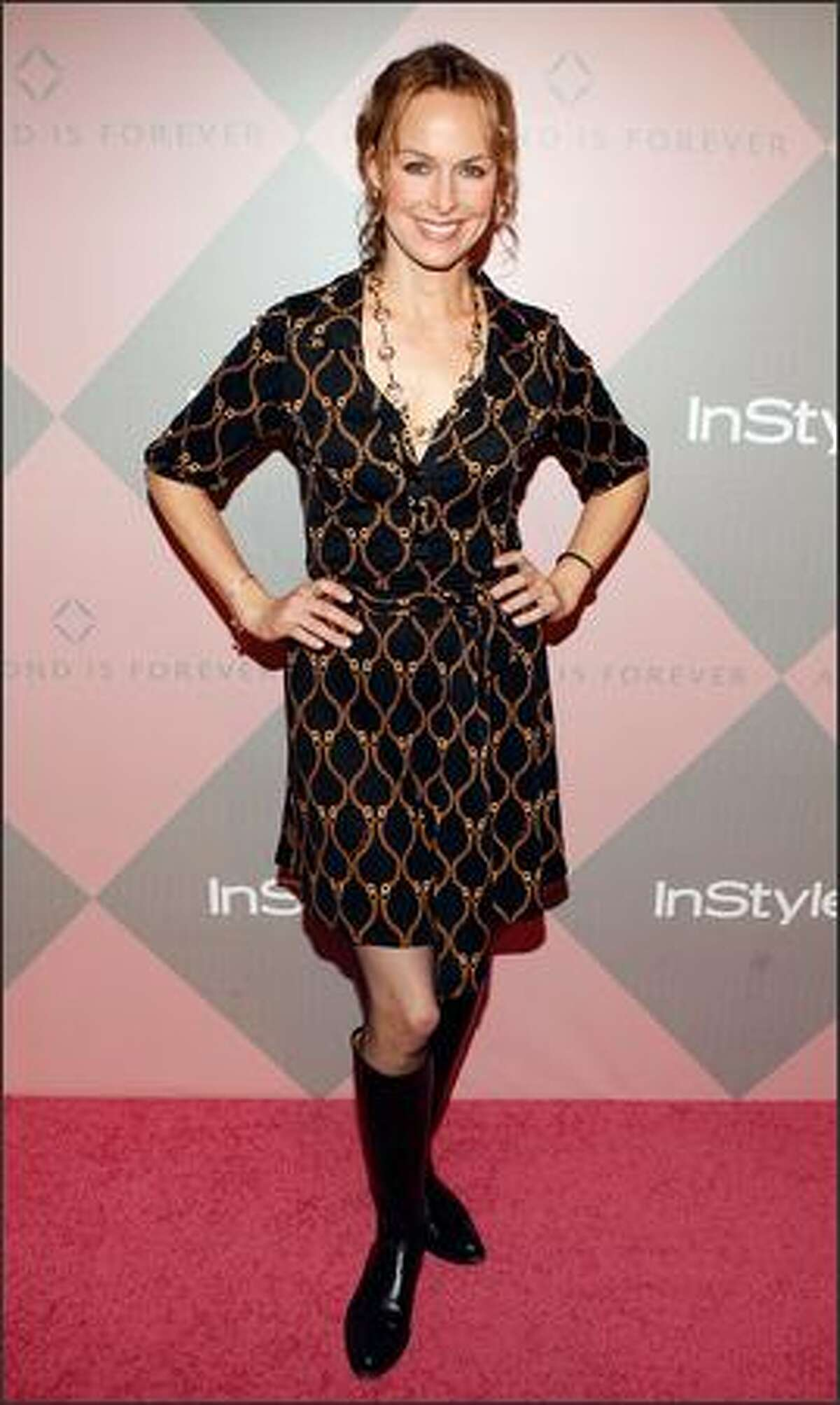 Actress Melora Hardin attends.