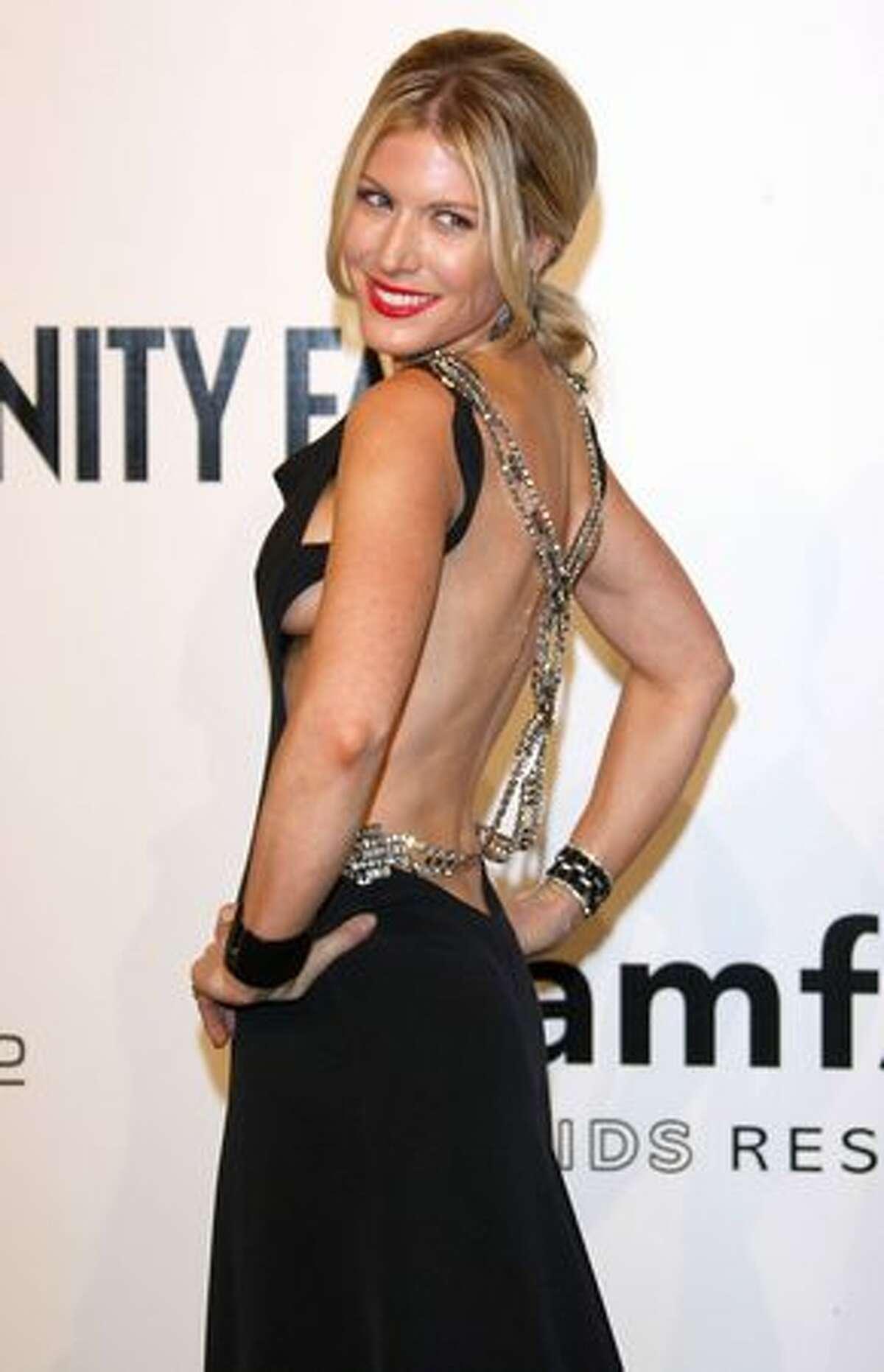 Israeli socialite Hofit Golan attends Milan Fashion Week in Milan, Italy in September 2009.