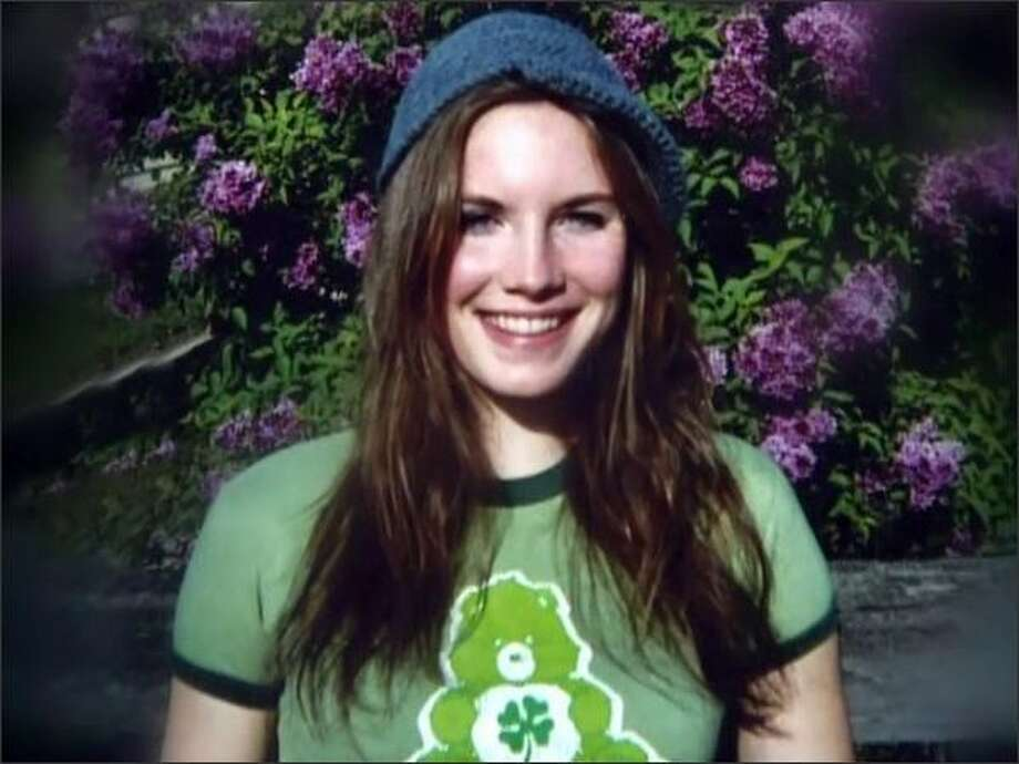 Amanda Knox shown in an undated photo.