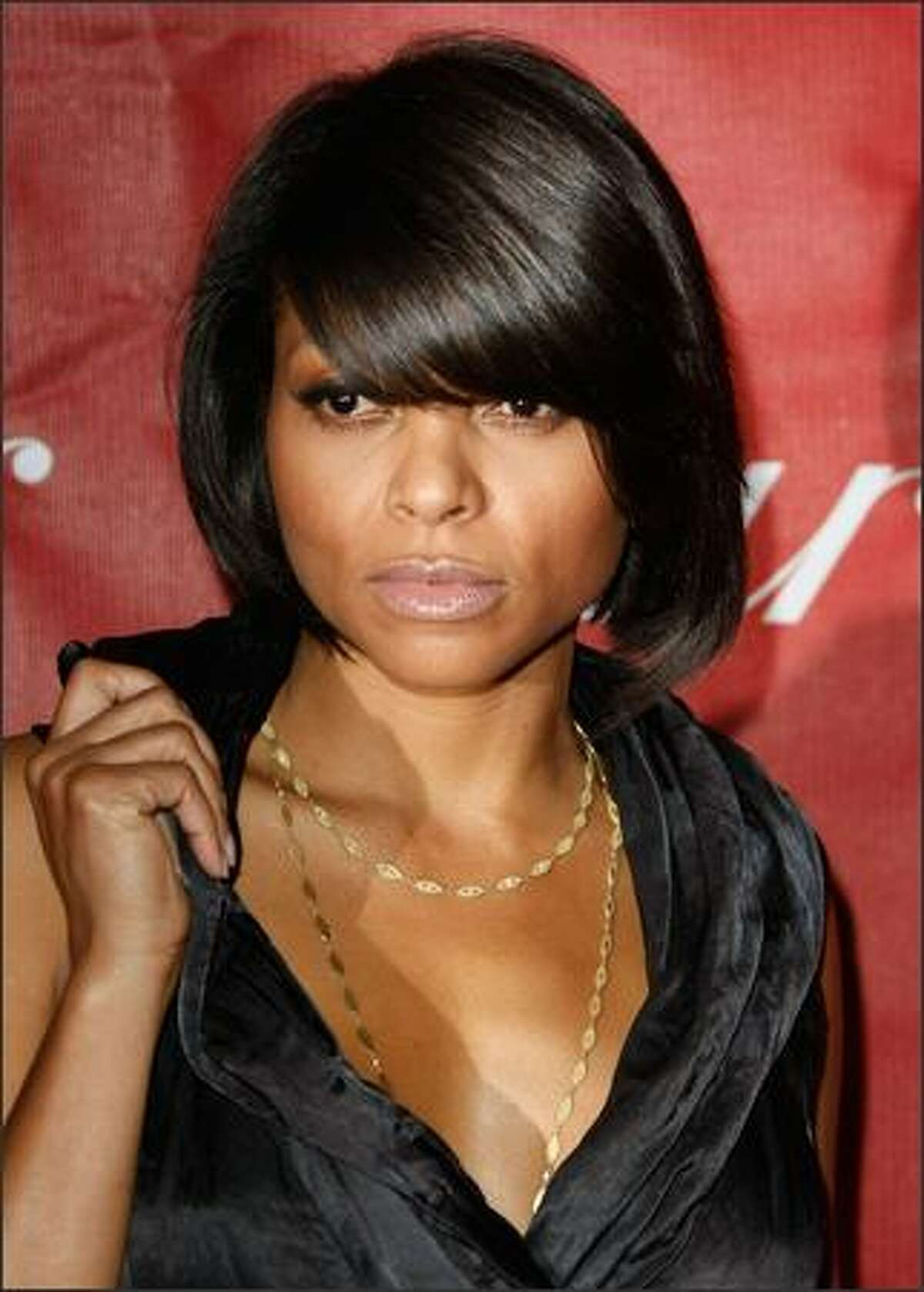 Actress Taraji P. Henson arrives. The veteran actress, who had a role in