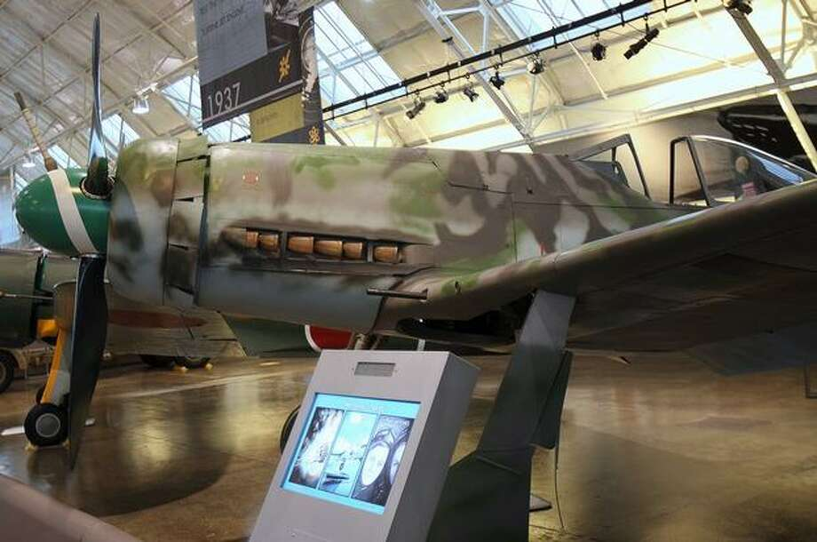 Despite it's prowess, the Fw 190 A-5 was not good above 20,000 feet. So Focke-Wulf built a longer Fw 190 with a bigger, inverted-V engine — the 190 D-13. Photo: Aubrey Cohen, Seattlepi.com