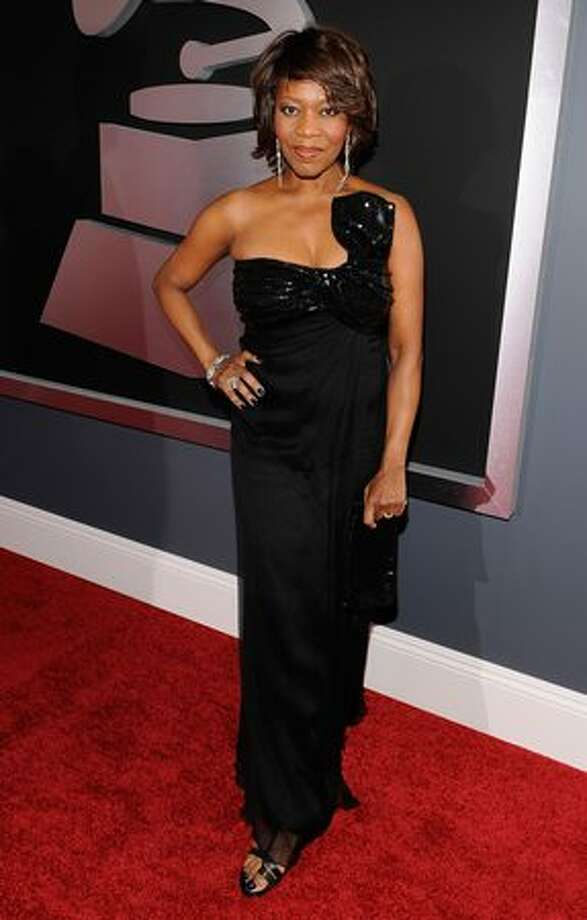 Actress Alfre Woodard arrives. Photo: Getty Images