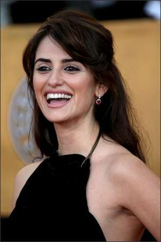 Actress Penelope Cruz arrives at the 15th Annual Screen Actors Guild Awards the Shrine Auditorium on Sunday in Los Angeles, California. Photo: Getty Images