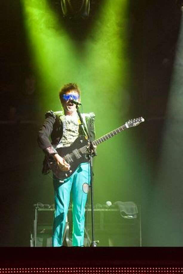 Muse performing a sold-out show at Key Arena on April 2, 2010. Photo: Chona Kasinger, Seattlepi.com