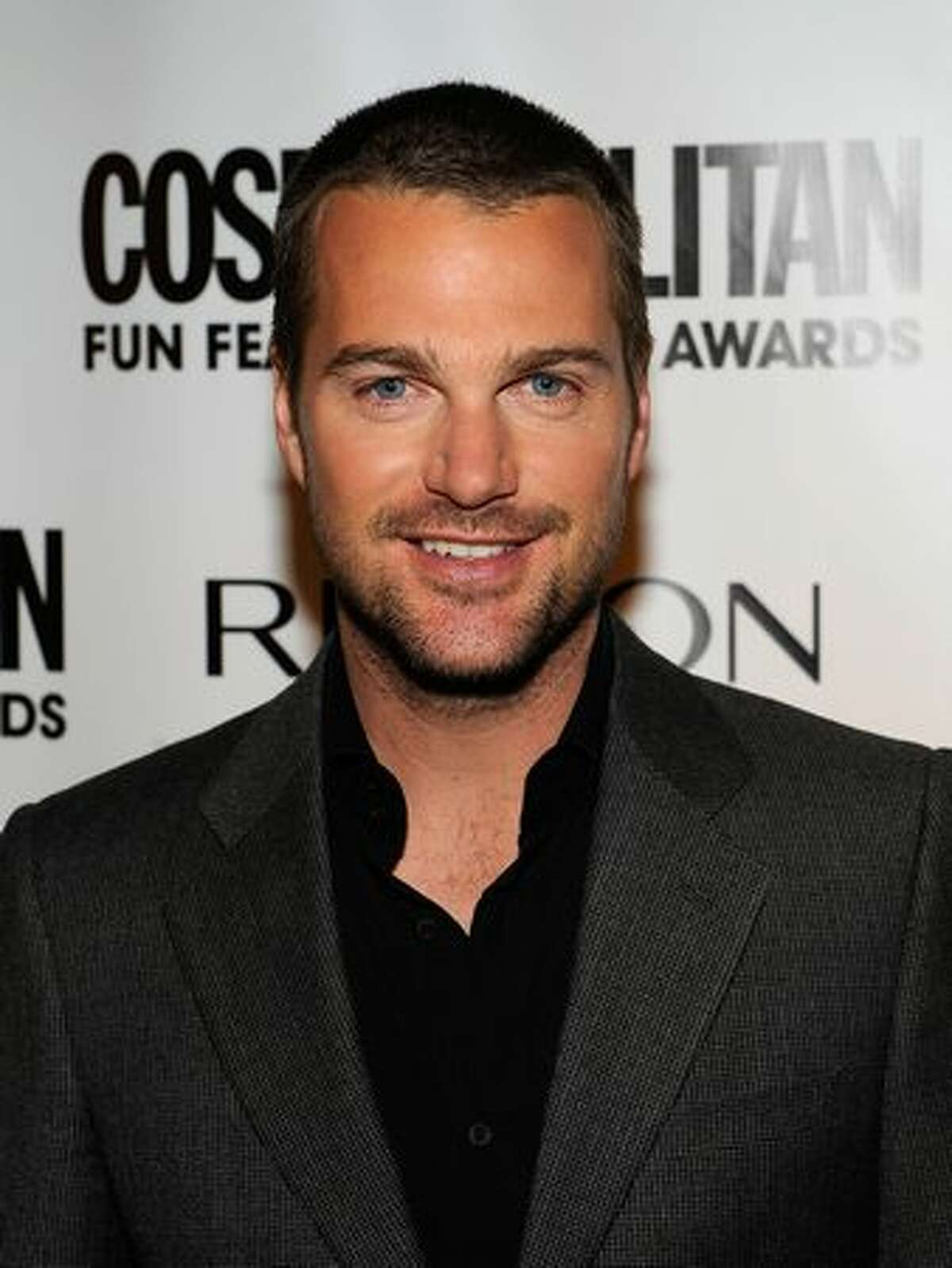 Actor Chris O'Donnell arrives.