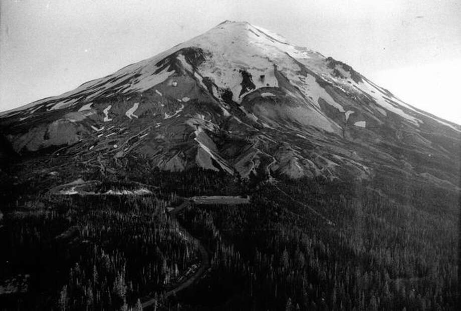 Mount St. Helens. Summer, 1975. (Photo by Dale Blindheim) Photo: P-I File