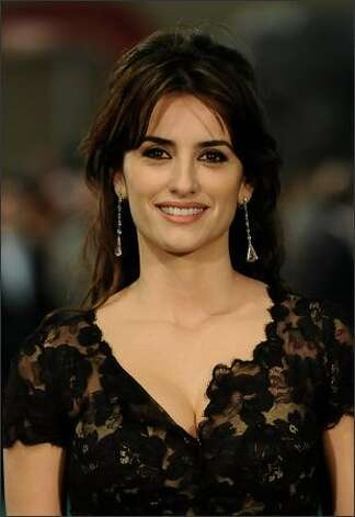 Spanish actress Penelope Cruz attends the Goya Cinema Awards 2009 ceremony on Sunday at the Palacio de Congresos in Madrid, Spain. Photo: Getty Images