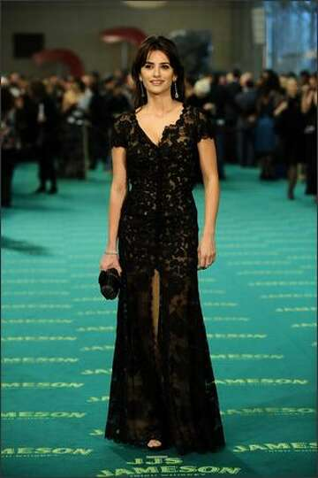 Spanish actress Penelope Cruz attends the Goya Cinema Awards 2009 ceremony on Sunday at the Palacio