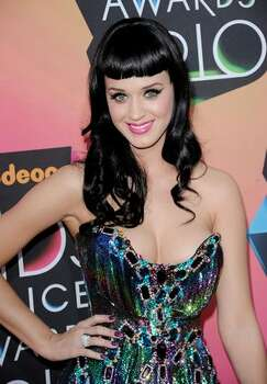 Singer Katy Perry arrives at Nickelodeon's 23rd Annual Kids' Choice Awards. Photo: Getty Images