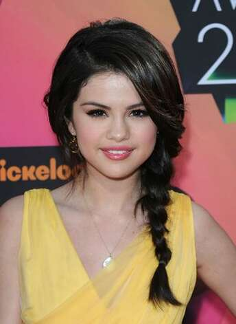 Actress Selena Gomez arrives at Nickelodeon's 23rd Annual Kids' Choice Awards. Photo: Getty Images