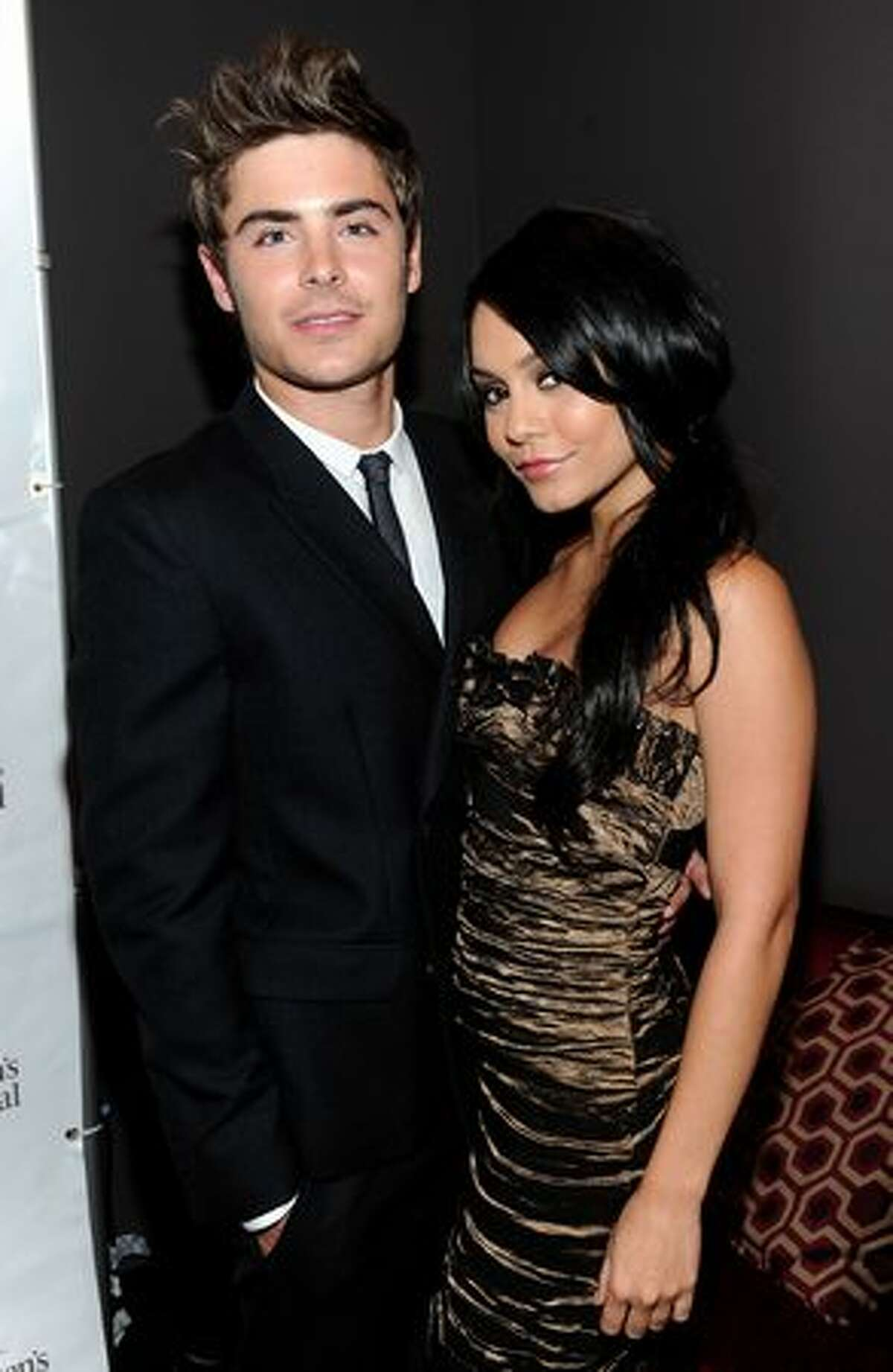 Actor Zac Efron and actress Vanessa Hudgens attend the inaugural St. Jude Children's Hospital's