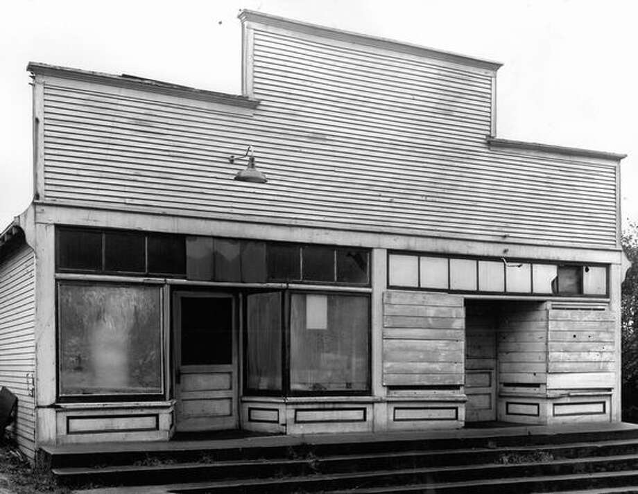 This former Queen Anne grocery store was KING-TVs first newsroom. This photo was taken in January 1952; Seattle's first television broadcast was the 1948 high school state championship at Memorial Stadium. Photo: P-I File