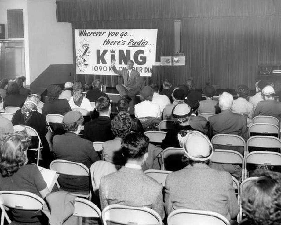 A KING radio clinic in September 1951. Photo: P-I File