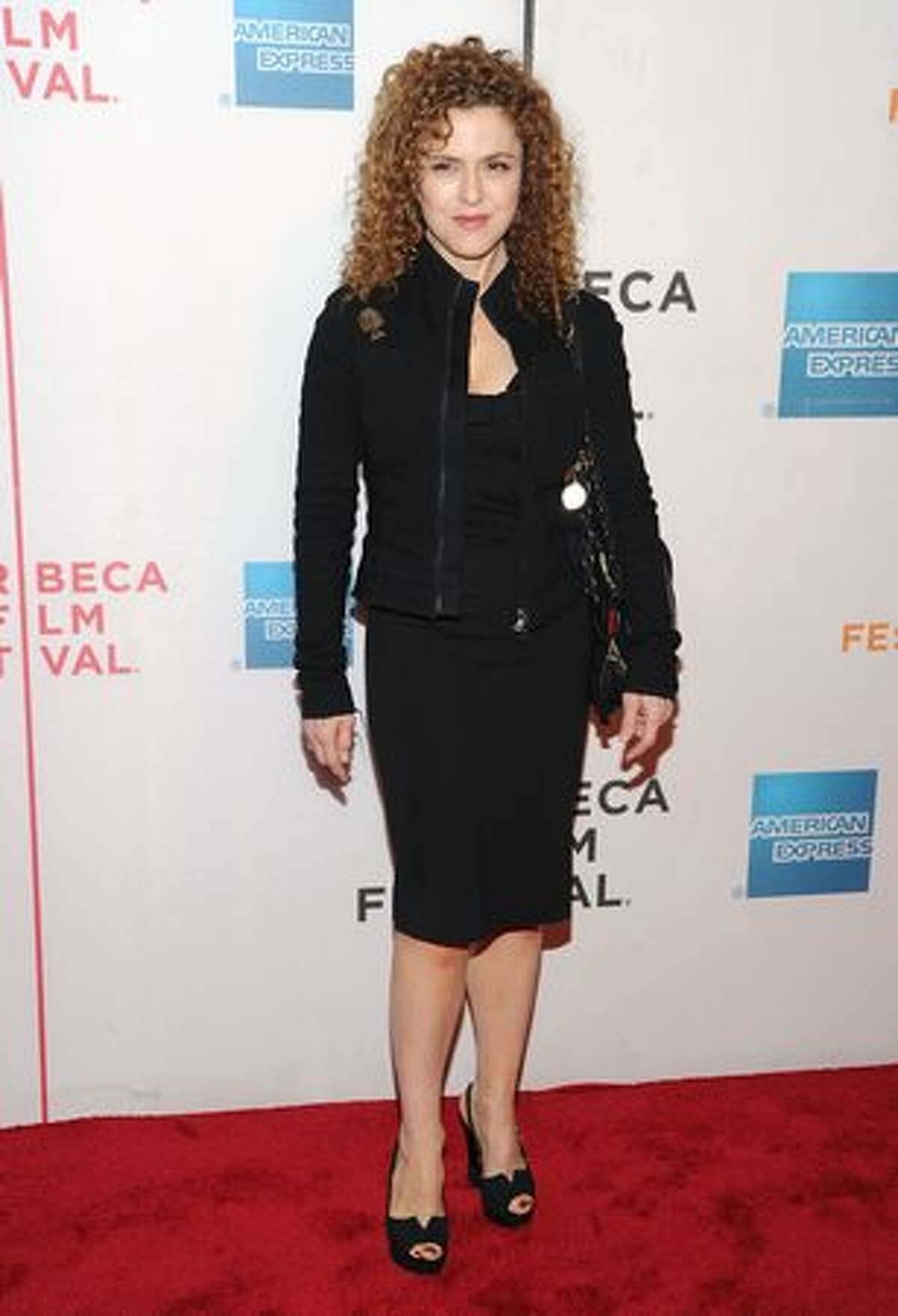 Actress Bernadette Peters attends the premiere of