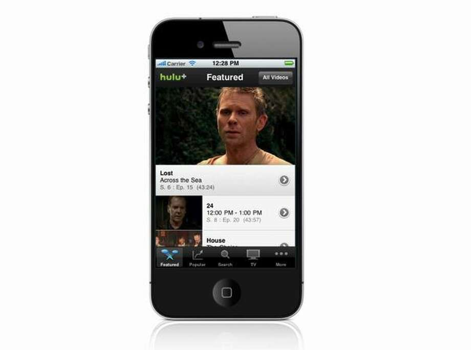 Hulu Plus will run on the Apple iPhone 4 and iPhone 3GS (running iOS 4). Photo: Hulu