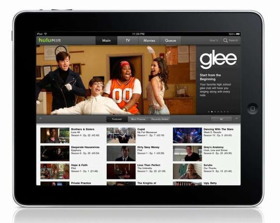 Hulu Plus on the Apple iPad – so clearly the video is not being piped through a Flash player. Photo: Hulu