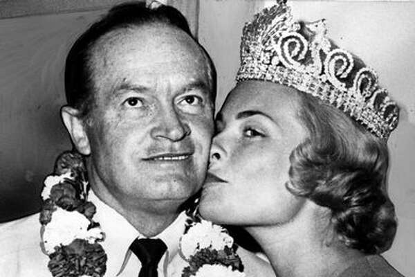 After the 1962 World's Fair put Seattle on the map, celebrities doing shows here often took part in Seafair. In 1963, Bob Hope was bussed by Seafair Queen Arlene Hinderlie and served as Honorary Grand Marshal for the Torchlight Parade.