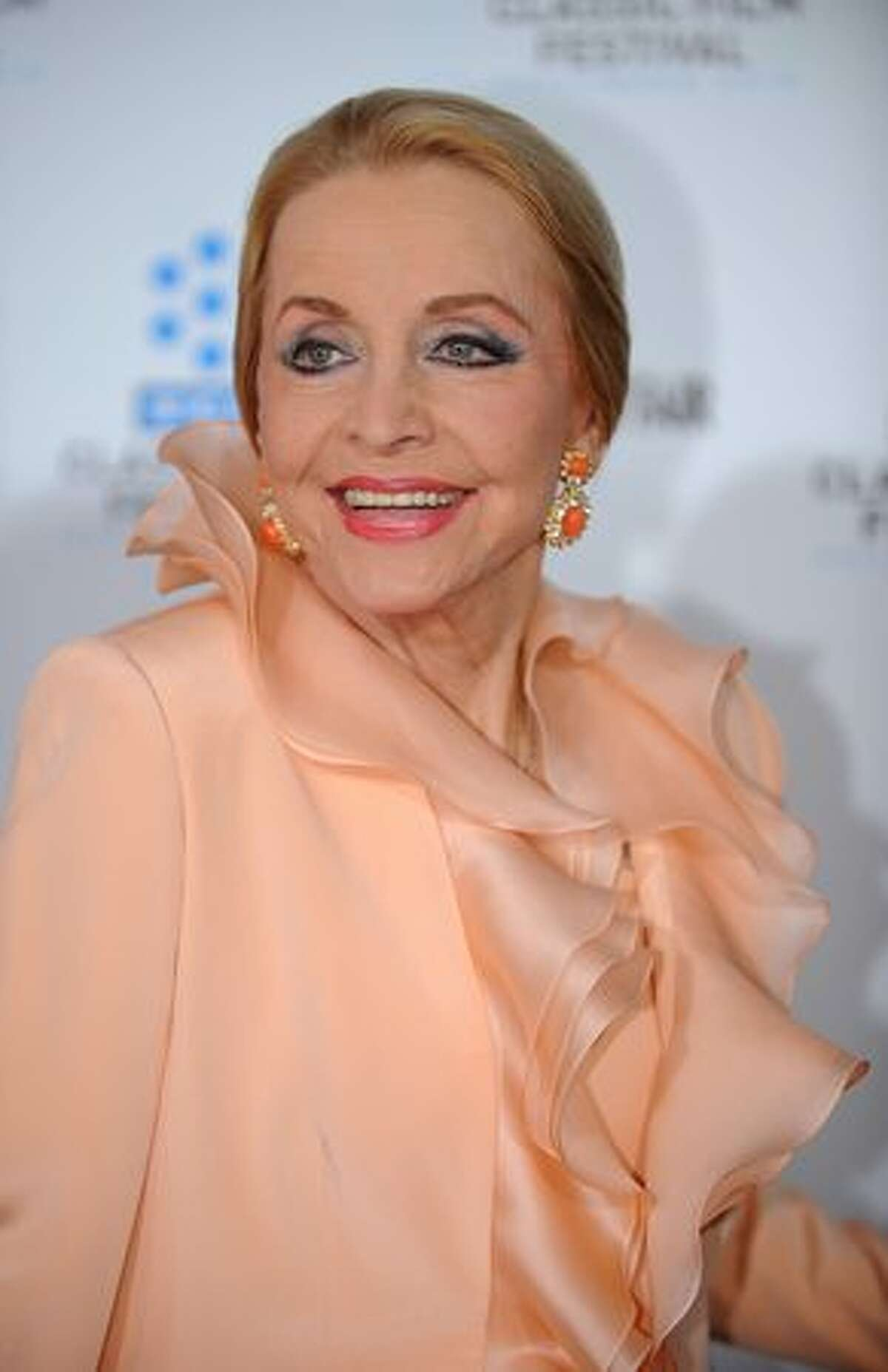 """Actress Anne Jeffreys arrives at the world premiere of the restored """"A Star is Born"""" during the opening Night Gala of the 2010 TCM Classic Film Festival in Hollywood, California, on April 22, 2010."""