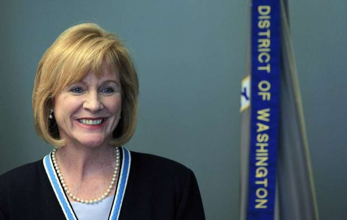 U.S. Attorney Jenny Durkan briefly smiles as she addresses a news conference at the U.S. Courthouse in Seattle. Colton Harris-Moore, the 19-year-old accused in a two-year string of thefts from Washington state to the Caribbean, did not seek bail in his first court appearance.