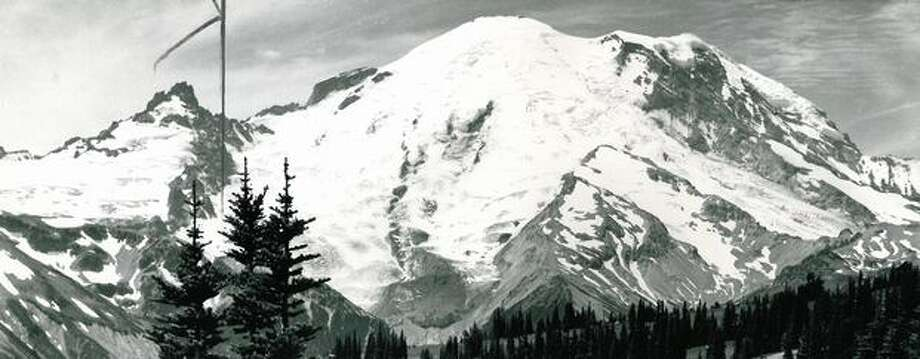 Mount Rainier,  1975. Photo: P-I File