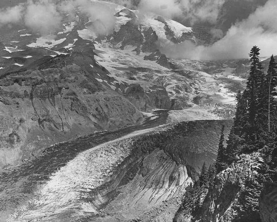 Mount Rainier National Park, March 1946. (Photo by Rainier National Park Company). Photo: P-I File