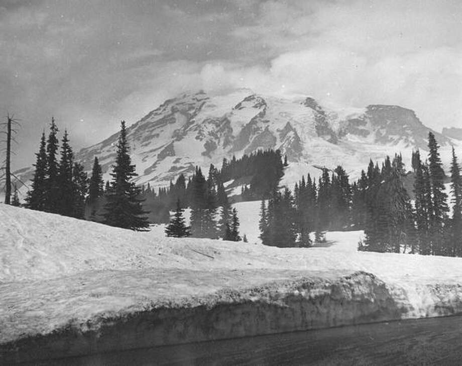 Mount Rainier, 1940. Photo: P-I File
