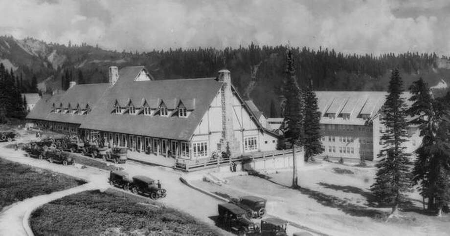 Paradise Inn, Mount Rainier, in 1938. Photo: P-I File