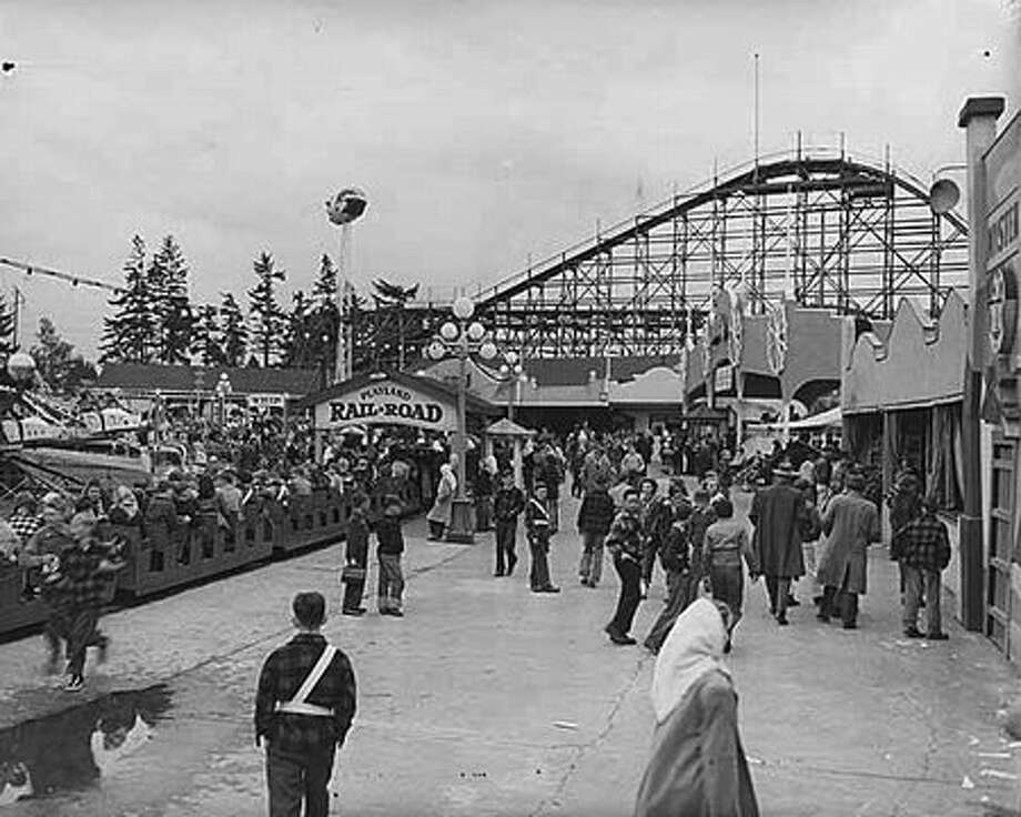 Playland, 1948. (Seattlepi.com file/MOHAI collection) Photo: P-I File