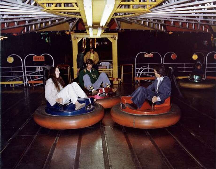 Fun Forest bumper cars, circa 1970. (Seattle Municipal Archives) Photo: P-I File