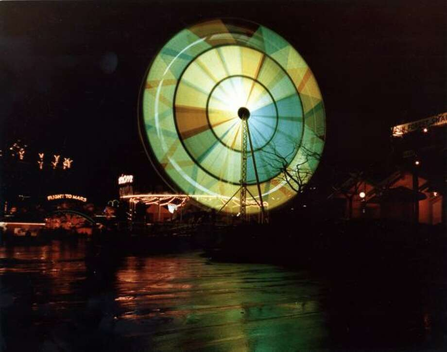 The Fun Forest Ferris Wheel, circa 1970. (Seattle Municipal Archives/73172) Photo: P-I File