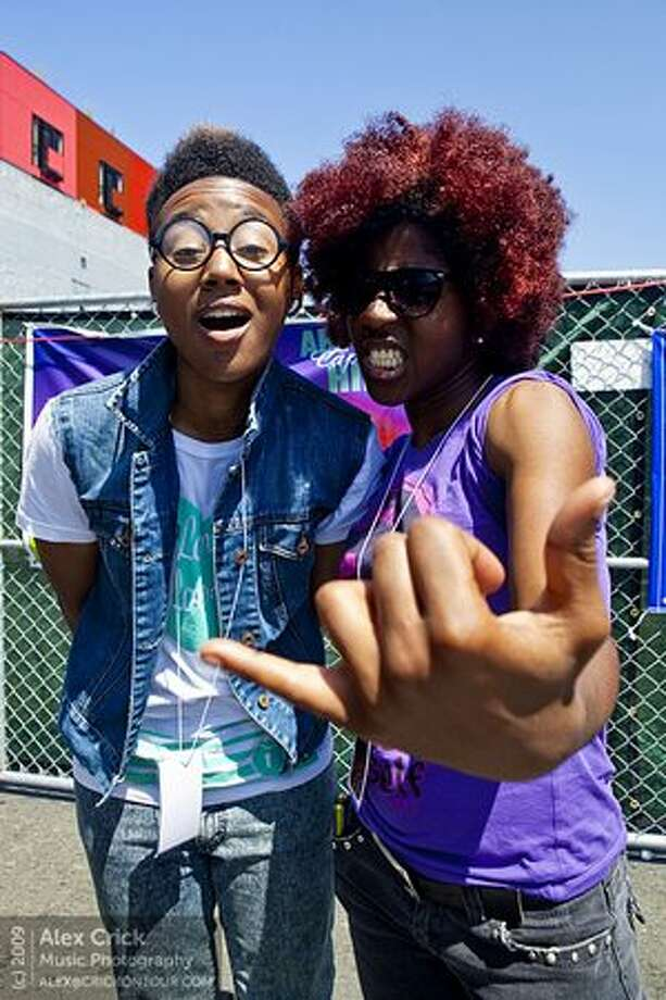 From the Words and Ideas lineup: THEESatisfaction