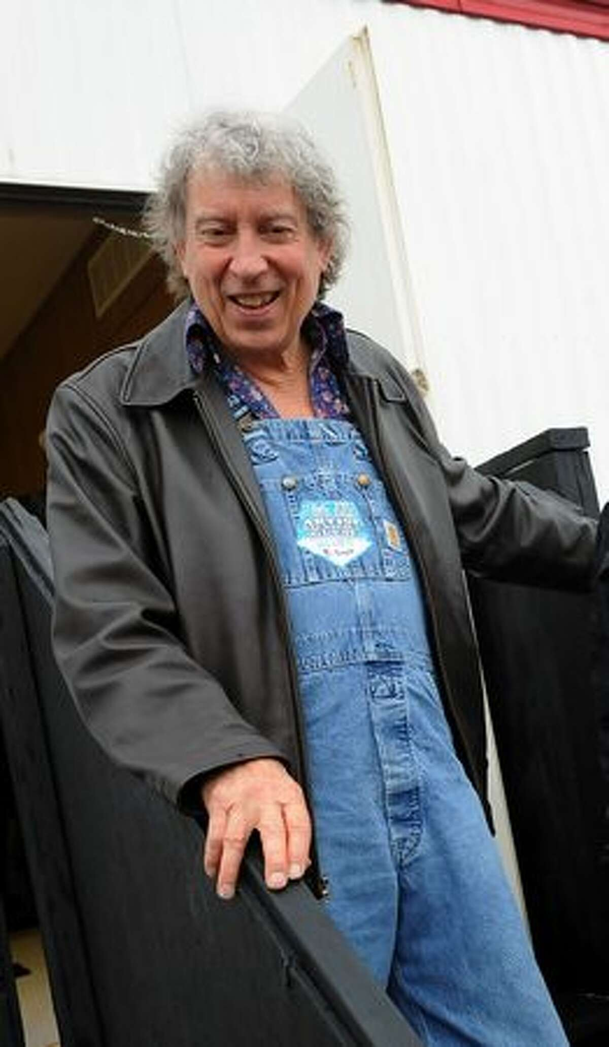 Recording Artist Elvin Bishop backstage at the 2010 New Orleans Jazz & Heritage Festival held at the Fair Grounds Race Course on April 23, 2010 in New Orleans.