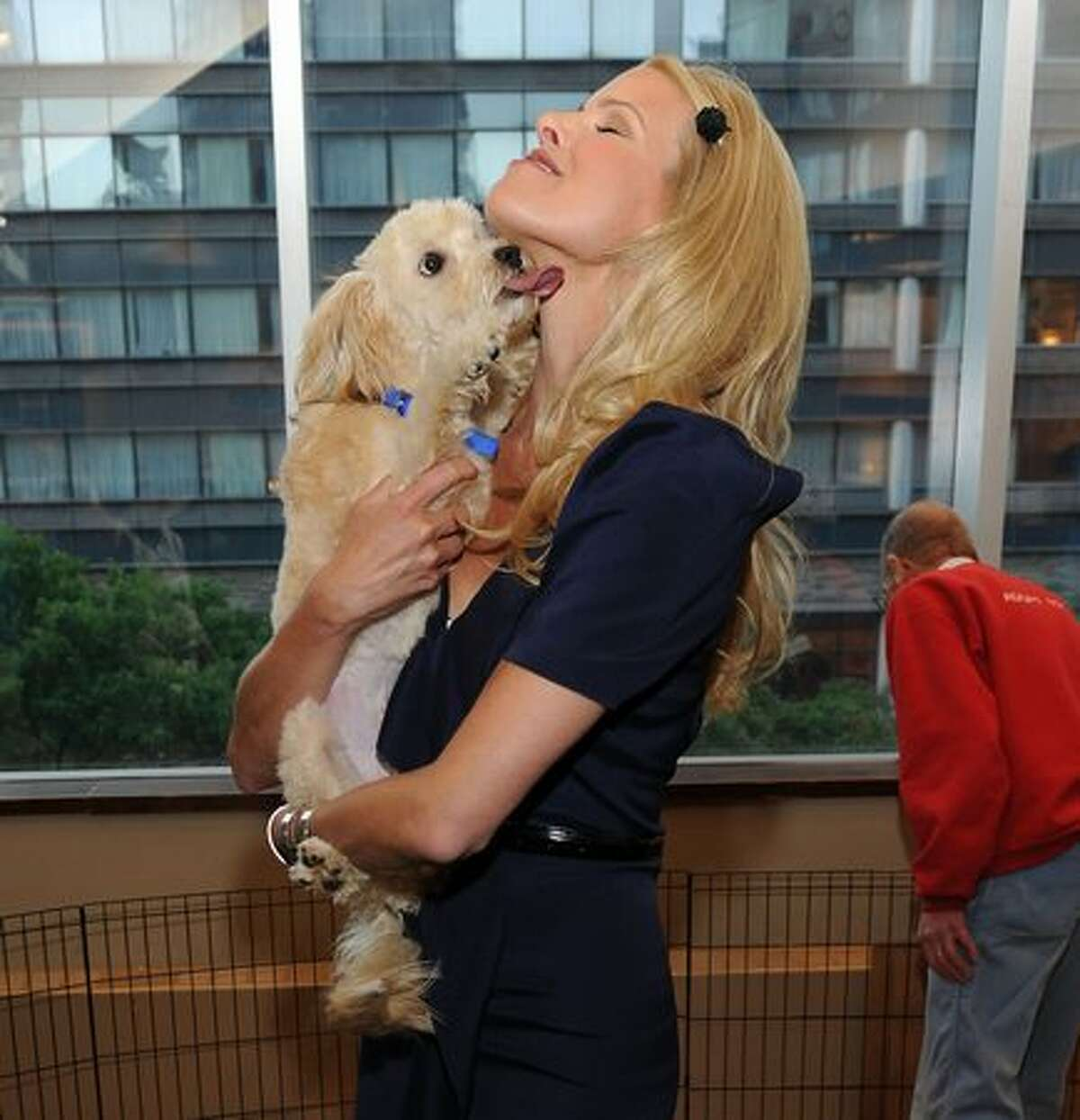 """Beth Ostrosky Stern promotes """"Oh My Dog: How to Choose, Train, Groom, Nurture, Feed, and Care for Your New Best Friend"""" at Barnes & Noble, Lincoln Triangle in New York City."""
