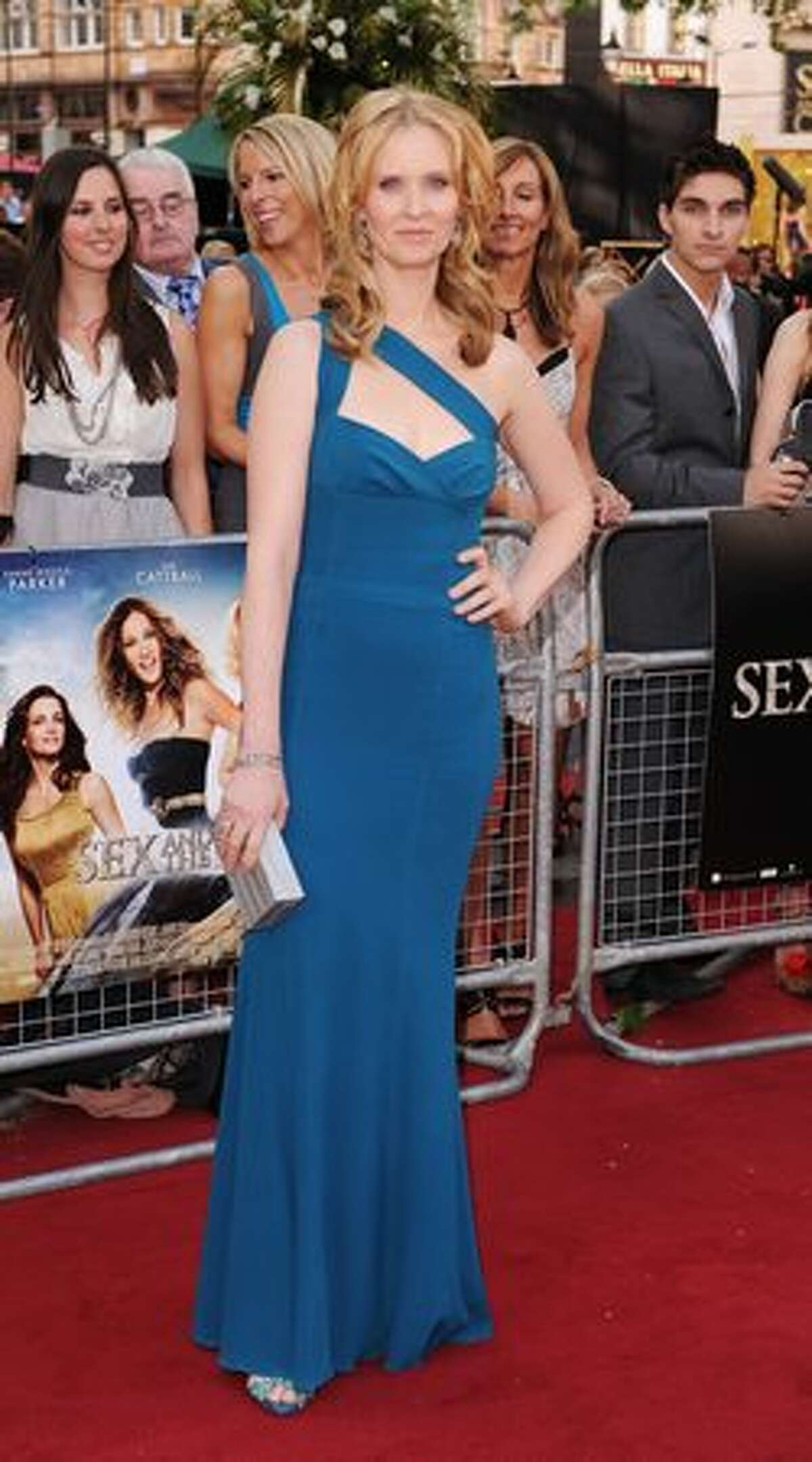 Cynthia Nixon attends the UK premiere of Sex And The City 2 at Odeon Leicester Square in London.