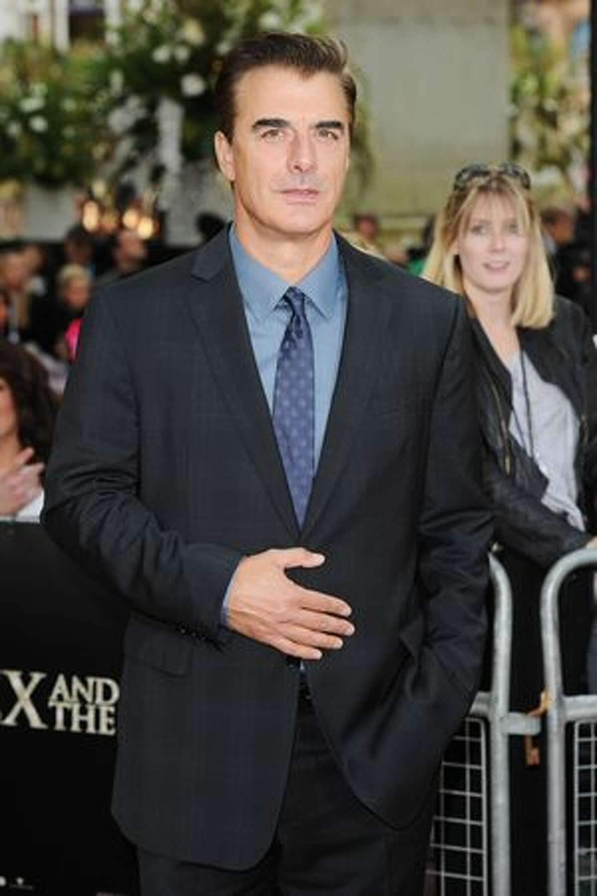 Chris Noth attends the UK premiere of Sex And The City 2 at Odeon Leicester Square in London.