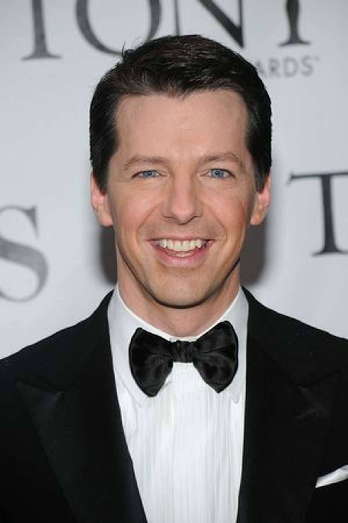 Actor Sean Hayes attends the 64th Annual Tony Awards at Radio City Music Hall.