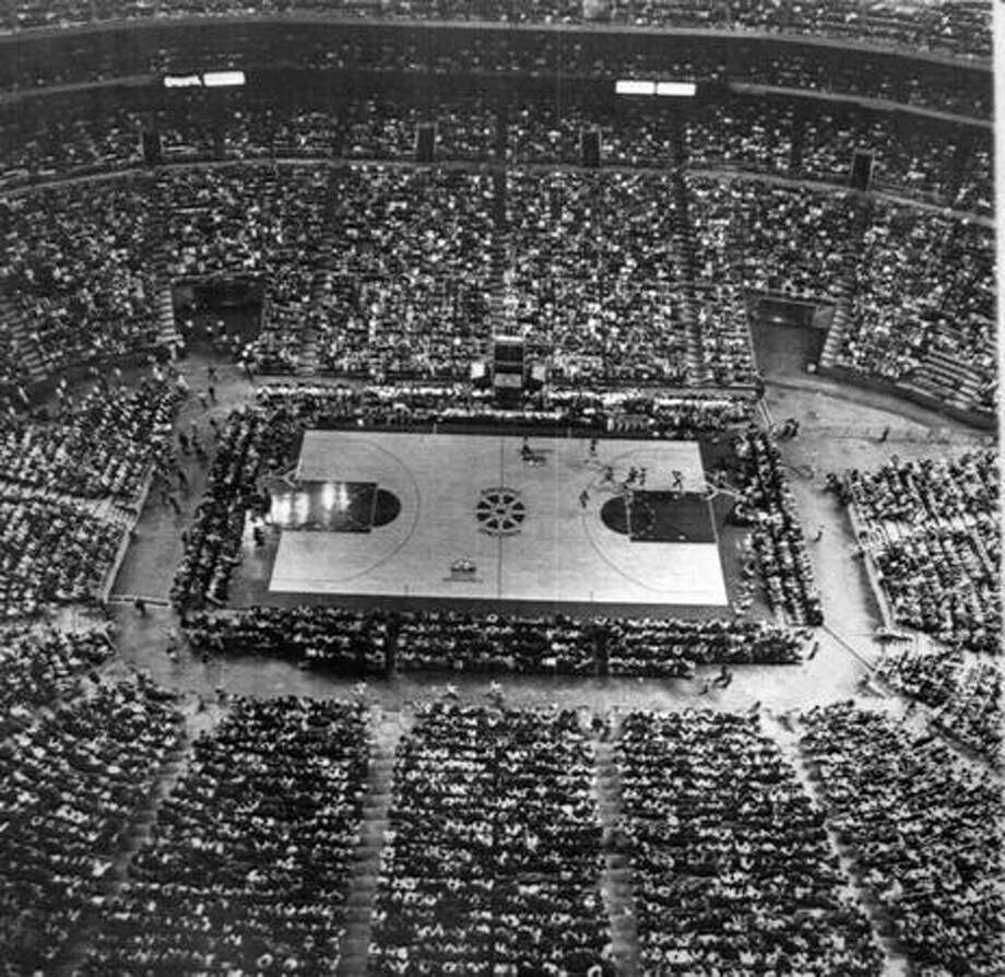 The Kingdome was a home for the 1984 NCAA Final Four basketball tournament. Photo: P-I File