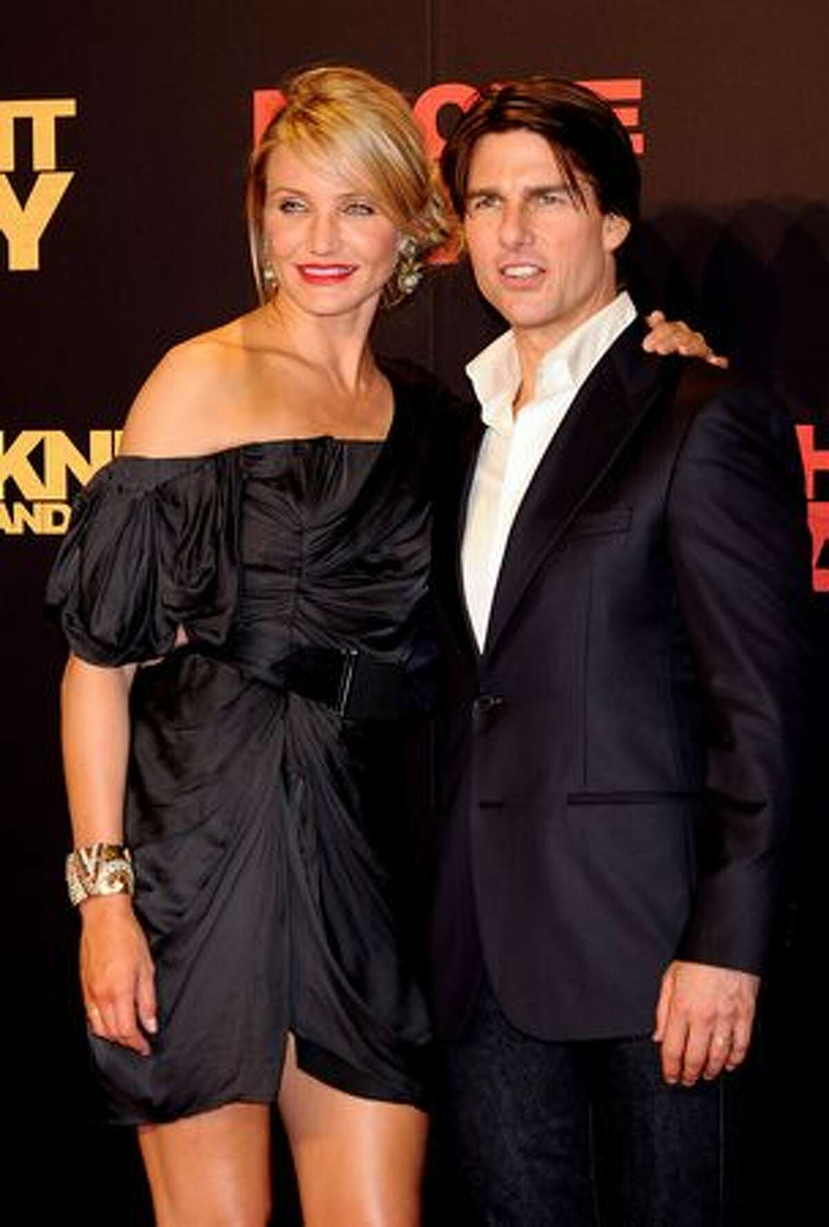 Tom Cruise and Cameron Diaz attend